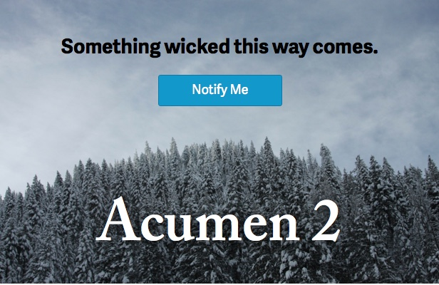 Acumen - The Highly Extensible Magento Theme